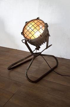 Te gekke industriële lamp