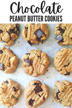 Sweet Desserts, Easy Desserts, Sweet Recipes, Delicious Cookie Recipes, Yummy Food, Drink Recipes, Dessert Recipes, Easy Peanut Butter Cookies, Best Comfort Food
