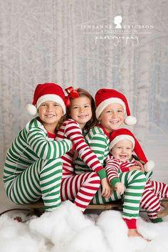 Sibling Christmas pjs
