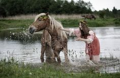 Women Water Animals Models Celebrity Horses Wash Fresh New Hd Wallpaper Horse Background, Horse Wallpaper, Free Desktop Wallpaper, Wallpapers, Water Animals, Horse Girl, Beautiful Horses, Majestic Horse, Faeries