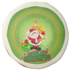 Merry christmas sugar cookie