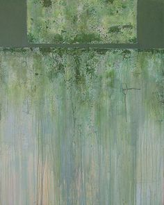 Suzanne Carmack - North Face, mixed media on canvas