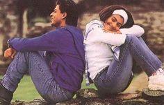 Rahul & Anjali in Kuch Kuch Hota Hai Bollywood Couples, Bollywood Photos, Bollywood Songs, Bollywood Actors, Bollywood Celebrities, Shahrukh Khan And Kajol, Shah Rukh Khan Movies, Srk Movies, Kuch Kuch Hota Hai