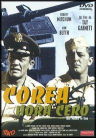 Corea, hora cero (1952) EEUU. Tay Garnett. Bélico. Romance. Guerra de Corea - DVD CINE 1020
