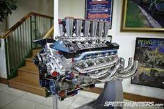 Twr  V12 7l engine namaken in 3D print