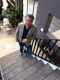Een trap ontworpen door Bertram Beerbaum voor Upstairs Traprenovatie.