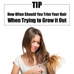 How Often Should You Trim Your Hair When Trying to Grow it Out
