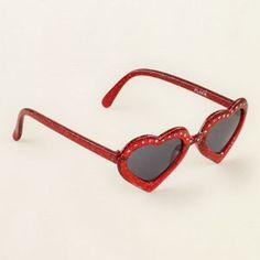 heart sunglasses.. So Madison <3