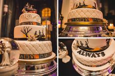 A Harry Potter wedding theme is the perfect excuse to go for an alternative wedding cake! Whether you opt for a simple cake with a creative cake topper or you go for an elaborate design that really takes the theme on board, your guests will be delighted.