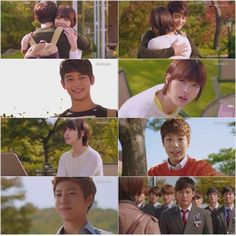 Aww! Gu Ja Hee leaving Genie and all the guys came out to tell her bye. Tae Joon goes to California to see her