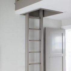 Kid Room with Gray Loft Ladder