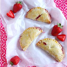 Strawberry Hand Pies - perfect for your next picnic or barbeque