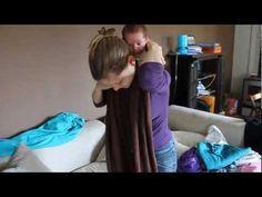 27 meilleures images du tableau Nouages (portage)   Babywearing ... b6e2f665cc6