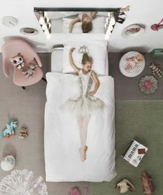 New kids bedding #snurk ballerina