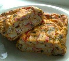 K Dukan diete Chlebík z krabích tyčiniek Dukan Diet, Krabi, Quiche, Cabbage, Brunch, Snacks, Meat, Baking, Vegetables