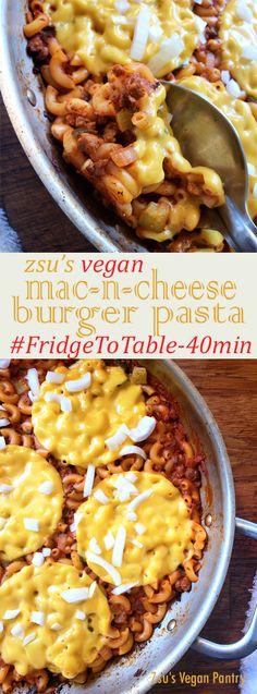 Zsu's Vegan Pantry: mac-n-cheeseburger pasta