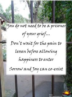 Do Not Be A Prisoner to Your Grief   The Grief Toolbox