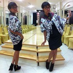 The Cape  I loves cape. And this batik cape is perfect for formal but not so formal event :) #Stylieandfoodie