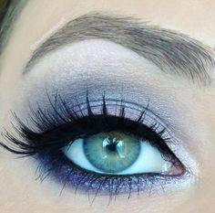 Lavender Smoky Eye