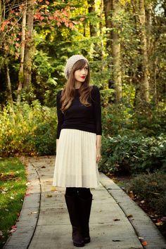 Storehouse of Memory: It's Trendy: Midi Skirts