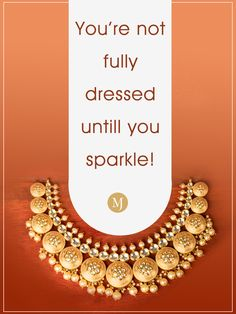 We're sure you agree! #MalaniJewelers #Necklace Diamond Jewelry, Gemstone Jewelry, Gold Jewelry, Jewellery, Jewelry Quotes, Statement Jewelry, Jewelry Collection, Sparkle, Jewels