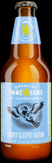 mybeerbuzz.com - Bringing Good Beers & Good People Together...: Brewery Ommegang Adding Short Sleeve Saison