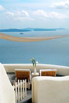 Santorini, Greece. Book your next vacation at GraciousGetaways.com