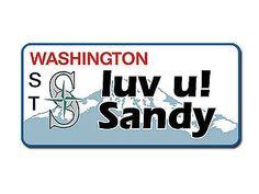 Washington - Fahrzeugkennzeichen mit Wunschtext bedruckt - Hausnummern und Schilder online kaufen
