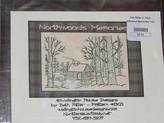 embroidery patterns free of cabins | ... -HOUSE-NORTHWOODS-MEMORIES-LOG-CABIN-MAPLE-SYRUP-EMBROIDERY-PATTERN