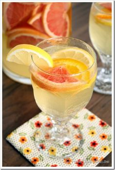 Limoncello Citrus Sangria | The Marvelous Misadventures of a Foodie