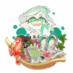 Yesterday, we saw a callie album for the last splatfest; today, i present to you a marie album (includes splatfest artwork) - Album on Imgur