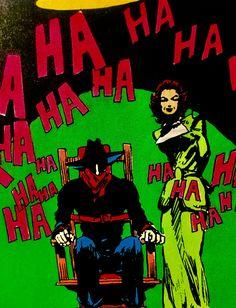 "The Shadow and Margo Lane, Michael W. Kaluta, ""Kingdom of the Cobra."""