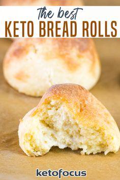 Keto Desserts, Keto Snacks, Ketogenic Recipes, Low Carb Recipes, Cooking Recipes, Ketogenic Diet, Best Keto Bread, Easy Keto Bread Recipe, Keto Muffin Recipe