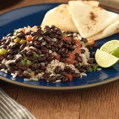 Bush's Traditional Black Beans & Rice - my husband's favorite version although I prefer the Goya recipe!