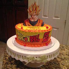 Goku Birthday, Happy 30th Birthday, Husband Birthday, Birthday Cake, Dragonball Z Cake, Creative Cakes, Custom Cakes, Themed Cakes, Yummy Cakes