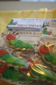 Hungry Caterpillar favors