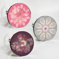 "Stöpselaufkleber ""schöne Blumen"" Sticker Set – 3 Aufkleber"