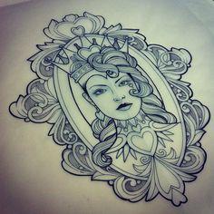 Gwendolyn Williams @tattoogwendolyn | Websta (Webstagram) This would be a stunning tattoo.