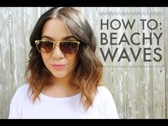 How To: Beachy Waves For Short To Medium Length Hair - How-To-DIY.org