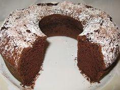 Bimby: Ricette dolci e non solo: Ciambellone al cioccolato Bimby: soffice e alto