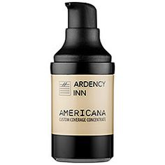 ARDENCY INN - AMERICANA Custom Coverage Concentrate—Light Golden is my go-to foundation because it's not too peachy or pink!  #sephora