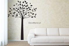 Naklejka na ścianę NSDR006 - Proste drzewko