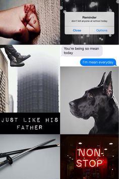 Robin / Damian Wayne aesthetic - DC aesthetics (created by @jg_thirteen)