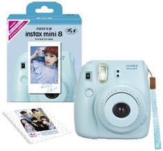 Fuji Instax Mini 8 N Blue + Original Strap Set Fujifilm Instax Mini 8N Instant Camera  Fujifilm $79.40