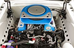 1965 Ford Mustang Blizzard Ringbrothers Engine