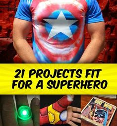 21 Geeky Projects Fit For A Superhero