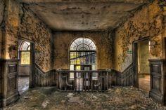 abandoned England   Abandoned factory, Lydbrook, England