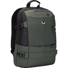 Targus - Pewter Laptop Backpack - Sage - Angle