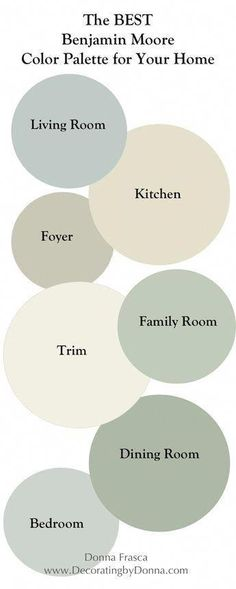 bedroom paint colors The Best Benjamin Moore Coastal Color Palette For Your Home UPDATED! Coastal Color Palettes, Coastal Paint Colors, Farmhouse Paint Colors, Paint Colors For Home, Paint Colours, Paints For Home, Natural Paint Colors, Rustic Paint Colors, Office Paint Colors