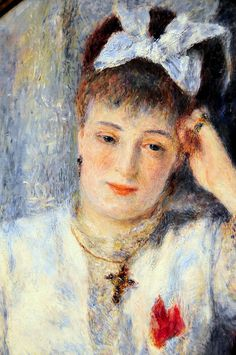 Pierre Auguste Renoir - Marie Murer - 1877 - National Gallery of Art, Washington DC Pierre Auguste Renoir, Edouard Manet, French Impressionist Painters, Impressionist Paintings, National Art, National Gallery Of Art, Art Gallery, Claude Monet, August Renoir